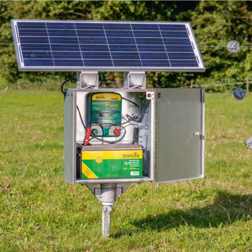 Panou solar gard electric