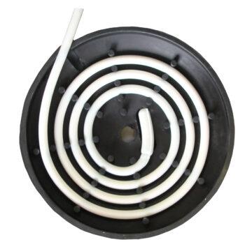 100.0121 Mod. 12P-HK - Ansicht Spezial-Gummiaufnahme von innen